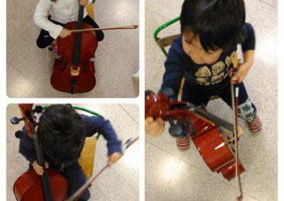 bambini e violoncello