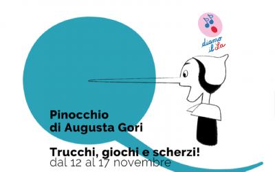 I BAMBINI AL CONSERVATORIO AD ASSISTERE A PINOCCHIO DI AUGUSTA GORI